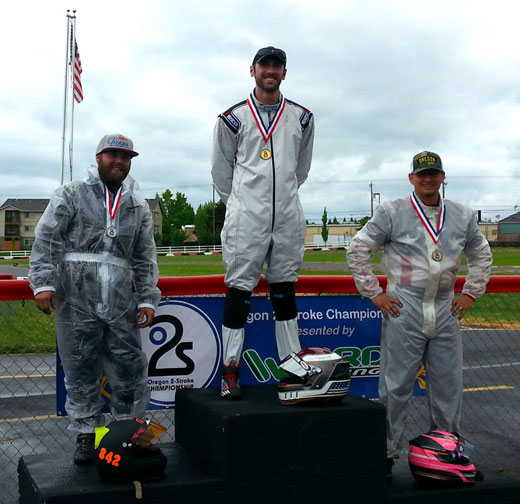 Podium from S4 Race 2
