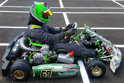 Points and Results - Open 2-Stroke Championship Kart Racing